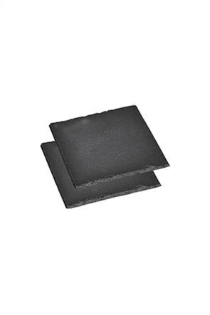 Kesper σετ σουβέρ πέτρινα (2 τεμάχια) 13 x 13 cm
