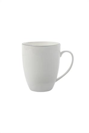 Maxwell & Williams κούπα με χερούλι και διακοσμητική ρίγα ''White Basics''
