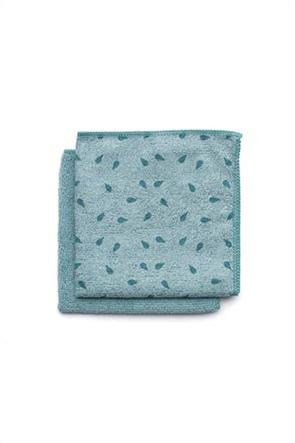 Brabantia Πετσετάκια καθαρισμού από μικροΐνες γαλάζιο 30 x 30 (σετ των 2)