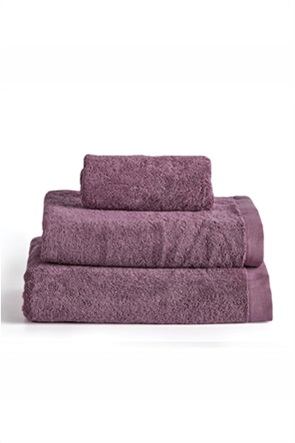 "Kentia πετσέτα προσώπου μονόχρωμη ""Brand Violetta"" 50 x 100 cm"