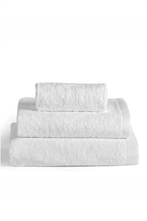 "Kentia πετσέτα προσώπου μονόχρωμη ""Brand Snow"" 50 x 100 cm"