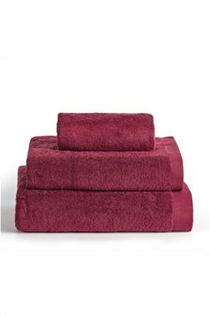 "Kentia πετσέτα χεριών μονόχρωμη ""Brand Bordeaux"" 30 x 30 cm"