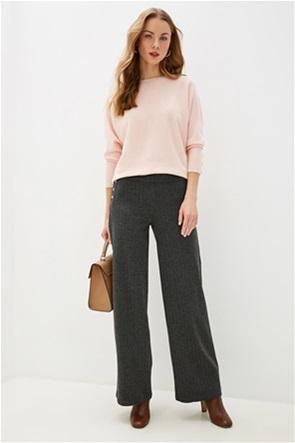 Lauren Ralph Lauren γυναικείo παντελόνι με μεταλλικά διακοσμητικά κουμπιά