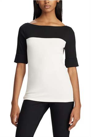 Lauren Ralph Lauren γυναικεία μπλούζα με colorblocking