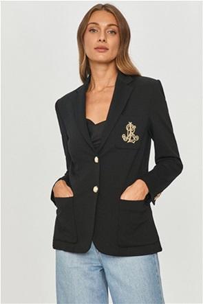 Lauren Ralph Lauren γυναικείo σακάκι με κεντημένο λογότυπο
