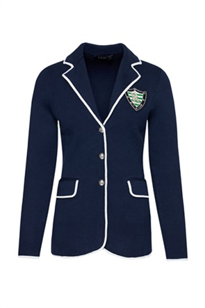 Lauren Ralph Lauren γυναικείο σακάκι με κεντημένο patch