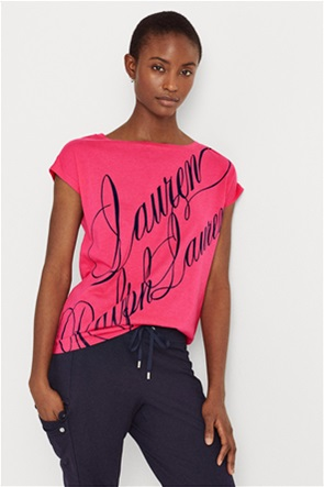 Lauren Ralph Lauren γυναικείο Τ-shirt με logo print