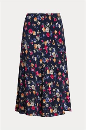 "Lauren Ralph Lauren γυναικεία midi φούστα με floral print ""Jacquard"""