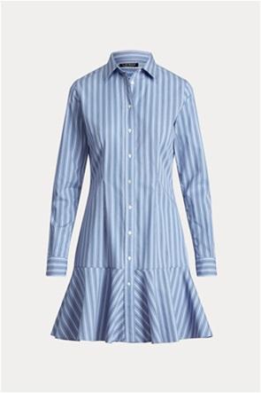 "Lauren Ralph Lauren γυναικείο φόρεμα σεμιζιέ με ριγέ σχέδιο "" Drop-Waist"""