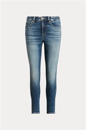"Lauren Ralph Lauren γυναικείο τζην παντελόνι ψηλόμεσο ""Skinny"""