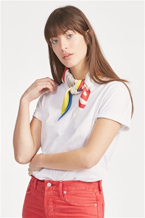Polo Ralph Lauren γυναικεία μπλούζα με μαντήλι Silk-Neck-Scarf