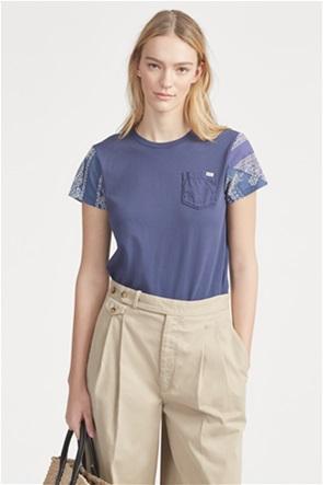 Polo Ralph Lauren γυναικείο T-shirt με μανίκια bandana print