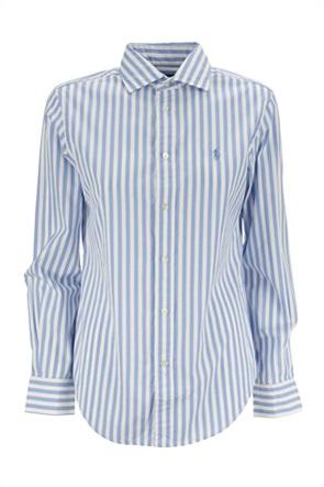 Polo Ralph Lauren γυναικείο πουκάμισο με ριγέ σχέδιο και κεντημένο λογότυπο ''Classic Fit''