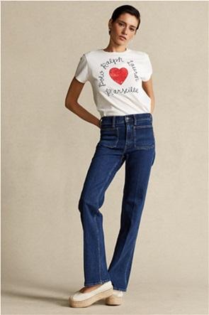"""Polo Ralph Lauren γυναικείο τζην παντελόνι με τσέπες """"Flared"""""""