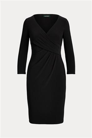 """Lauren Ralph Lauren γυναικείο mini κρουαζέ φόρεμα """"Wrap-Front Jersey"""""""