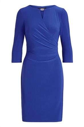 Lauren Ralph Lauren γυναικείο mini κρουαζέ φόρεμα μονόχρωμο