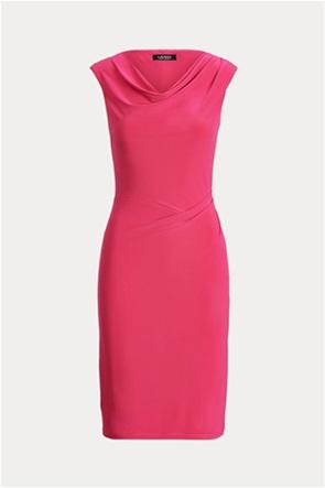 """Lauren Ralph Lauren γυναικείo φόρεμα με ντραπέ λαιμόκοψη """"Jersey Cowlneck"""""""