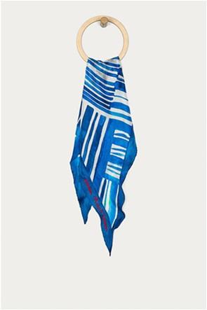 Lauren Ralph Lauren γυναικείo μεταξωτό φουλάρι με print