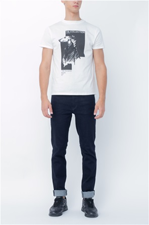 Trussardi Jeans ανδρικό τζην παντελόνι Straight fit