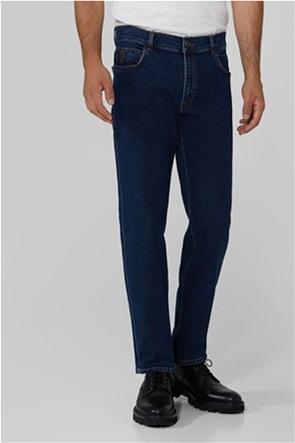 Trussardi Jeans ανδρικό τζην παντελόνι με κεντημένο logo