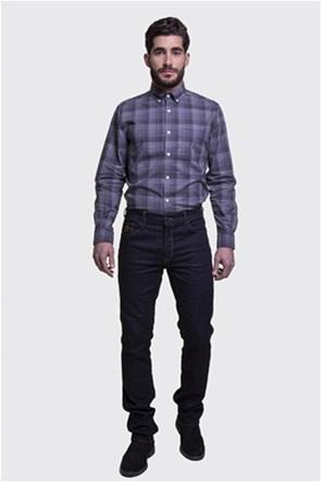Trussardi Jeans ανδρικό τζην παντελόνι πεντάτσεπο Straight Fit