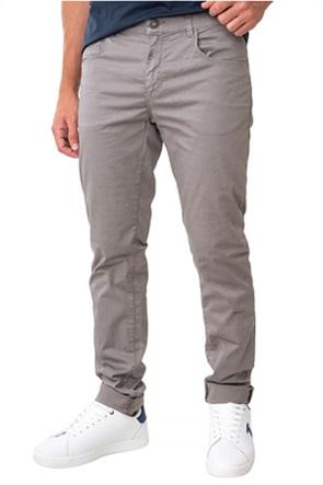 Trussardi ανδρικό chino παντελόνι μονόχρωμο Slim Fit