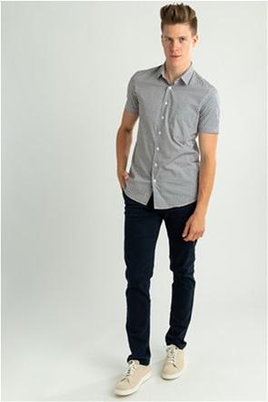 Trussardi Jeans ανδρικό παντελόνι chino Regular fit