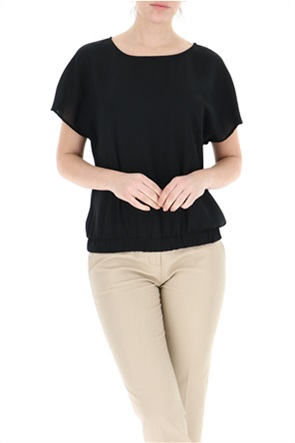 Trussardi Jeans γυναικεία μπλούζα με διαφάνεια στην πλάτη