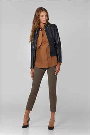 "Trussardi Jeans γυναικείο παντελόνι με all-over print ""Jacquard"""