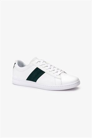 Lacoste ανδρικά sneakers με κορδόνια Carnaby Evo Leather and Suede