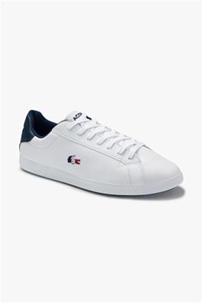 "Lacoste ανδρικά sneakers με κορδόνια ""Graduate Tricolore"""