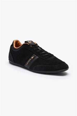 Lacoste ανδρικά sneakers με suede λεπτομέρειες