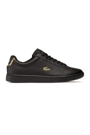 "Lacoste γυναικεία sneakers με χρυσό λογότυπο ""Carnaby Evo 0120"""