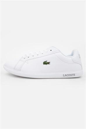 "Lacoste γυναικεία δερμάτινα sneakers με κεντημένο λογότυπο ""Graduate BL21"""