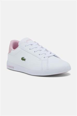 "Lacoste βρεφικά sneakers με κεντημένο λογότυπο ""Graduate"" (24-28)"