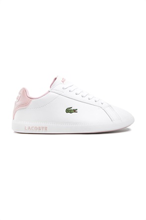 "Lacoste παιδικά sneakers με κεντημένο λογότυπο ""Graduate"" (35-39)"
