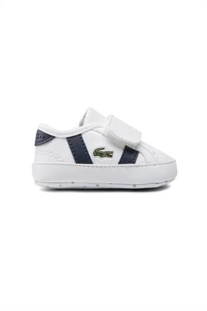 "Lacoste βρεφικά sneakers με κεντημένο λογότυπο ""Sideline Crib 0121"""
