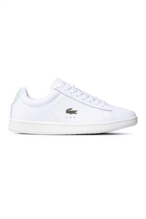 "Lacoste γυναικεία δερμάτινα sneakers ""Carnaby Evo 0121"""