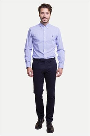 Polo Ralph Lauren ανδρικό παντελόνι μπλε σκούρο Stretch Slim Fit Chino