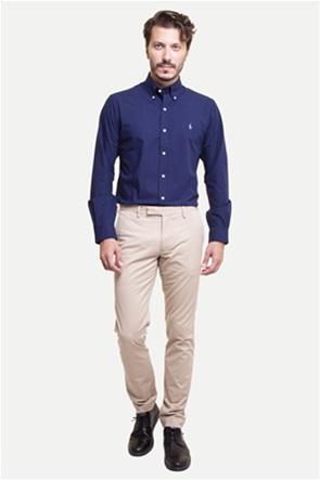 Polo Ralph Lauren ανδρικό παντελόνι μπεζ Stretch Slim Fit Cotton Chino