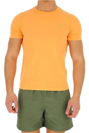 Polo Ralph Lauren ανδρικό μονόχρωμο T-shirt Custom Slim