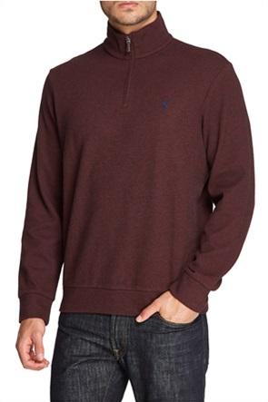 Polo Ralph Lauren ανδρική μπλούζα με ψηλό λαιμό και φερμουάρ 1/2