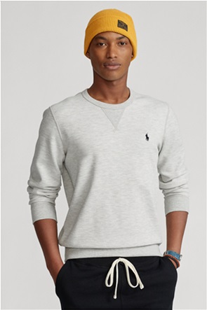 Polo Ralph Lauren ανδρική μπλούζα φούτερ με κεντημένο λογότυπο ''Double-Knit''