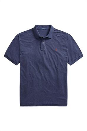 Polo Ralph Lauren ανδρική πόλο μπλούζα με κεντημένο λογότυπο ''Slim Fit Mesh''