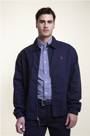 Polo Ralph Lauren ανδρικό bomber μπουφάν με κεντημένο logo