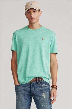 Polo Ralph Lauren ανδρικό T-shirt με κεντημένο λογότυπο ''Custom Slim Fit''