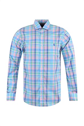 Polo Ralph Lauren ανδρικό καρό πουκάμισο Slim Fit