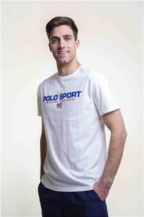 "Polo Ralph Lauren ανδρικό T-shirt με logo print Classic Fit ""Polo Sport"""