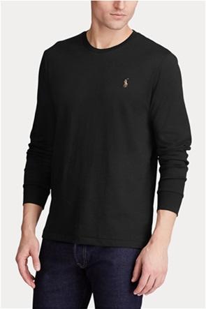 Polo Ralph Lauren ανδρική μπλούζα με κεντημένο λογότυπο ''Custom Slim Fit''