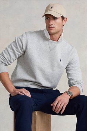 Polo Ralph Lauren ανδρική μπλούζα φούτερ fleece με κεντημένο λογότυπο